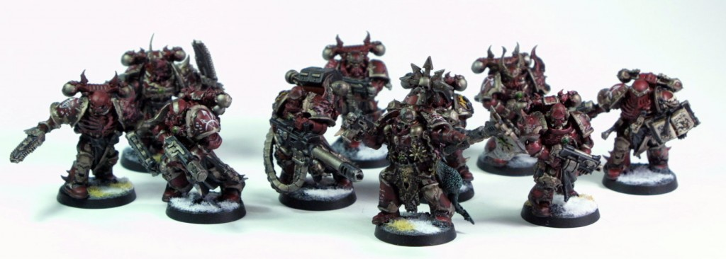 Word Bearer Squad