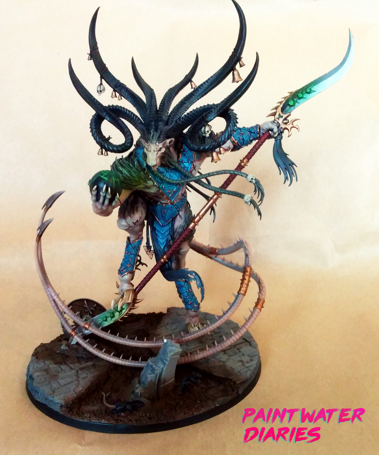Age of Sigmar Skaven Vermin Lord - Paint Water Diaries